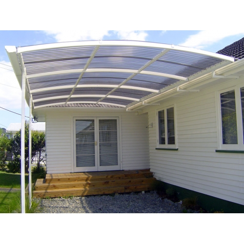 Polycarbonate roofing polycarbonate roofing reviews for Roof awning design