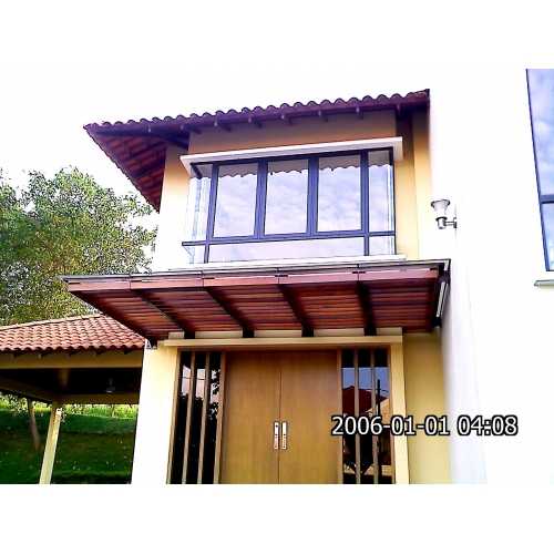 Metal awning for Roof awning design