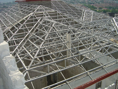 Metal roof truss for Truss roof cost